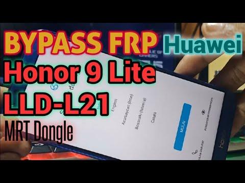 BYPASS FRP HONOR 9 Lite LLD-L21 Huawei MRT Dongle