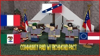 Community Raid With CSA/RM/AFE - [Roblox] Flag Domination Raid