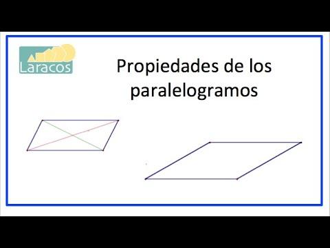Propiedades De Los Paralelogramos Youtube