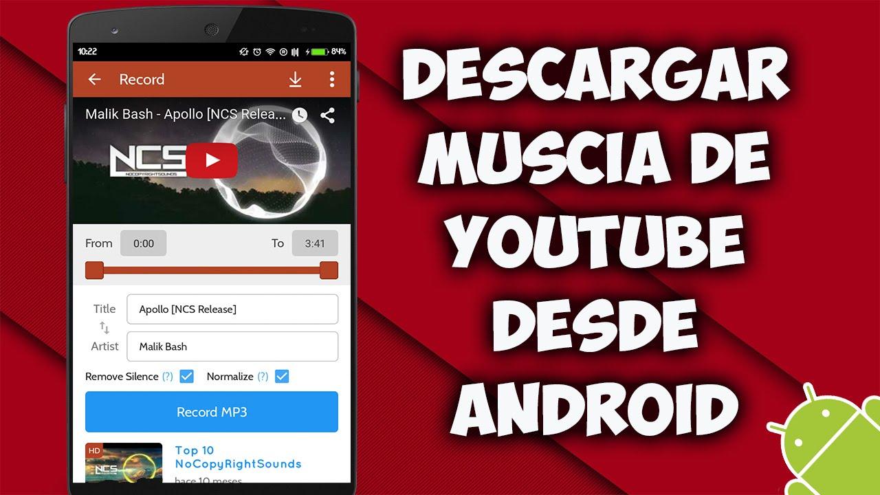 La Mejor Aplicación Para Bajar Música De Youtube Youtube