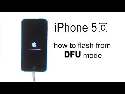 iPhone 4 / 4S / 5 / 5S / 5c / 6 / 6S - how to flash from DFU mode