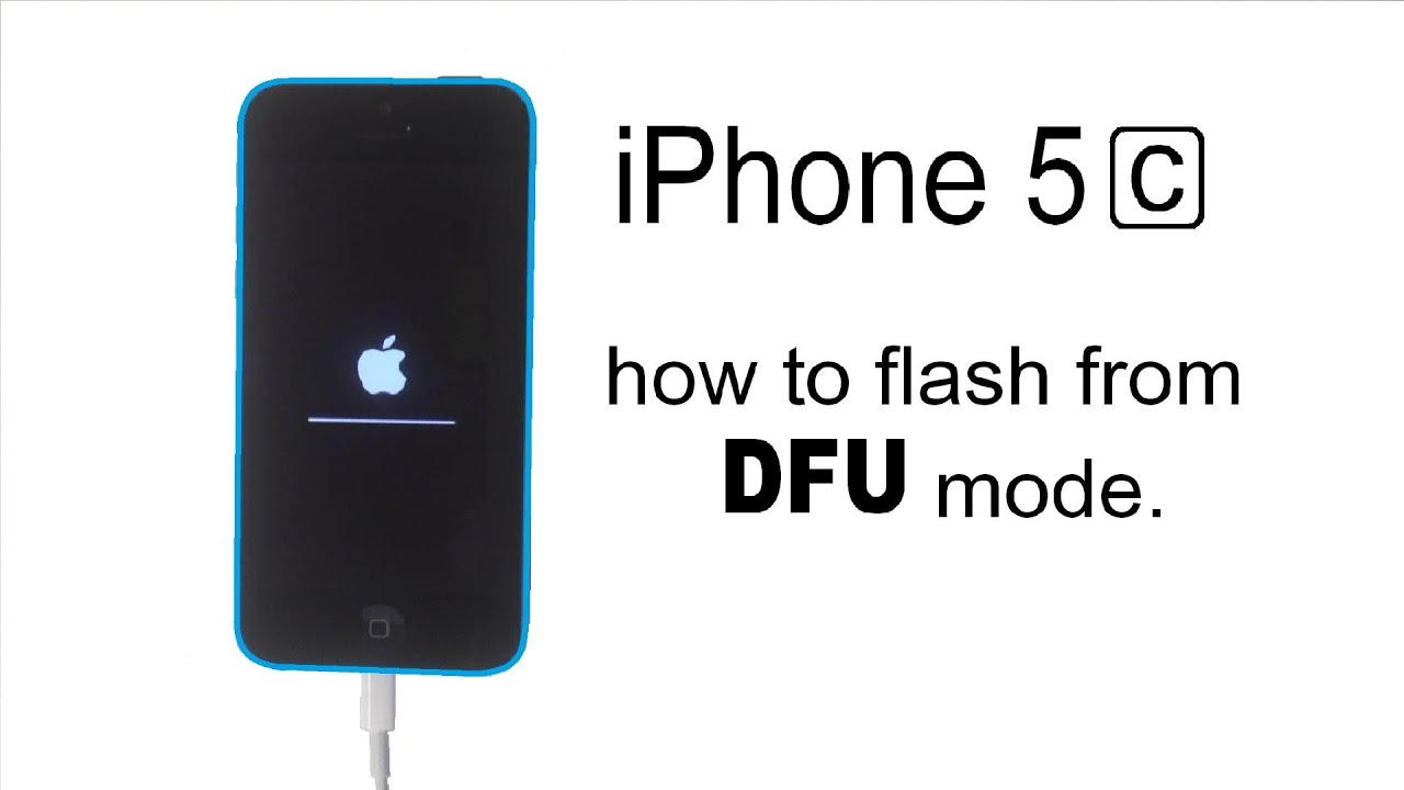 how to take your iphone out of dfu mode