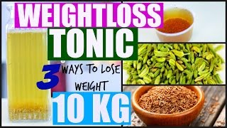 How To Lose Upto 10 KG Weight Weightloss Drink At Home | SuperPrincessjo
