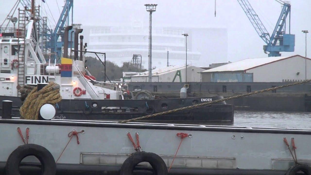 Meyer Werft Ausdocken