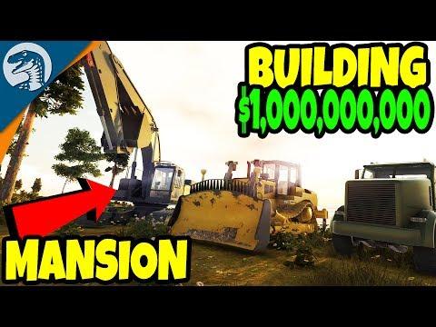 BUILDING $1,000,000,000 MANSION, ULTIMATE BUILDING SIMULATOR? | Machine World 2 Gameplay