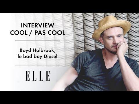 L' coolpas cool de Boyd Holbrook pour ELLE