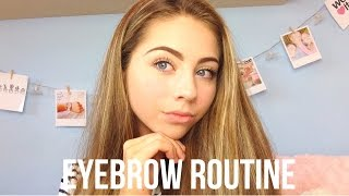 My Eyebrow Routine | Floral Beauty