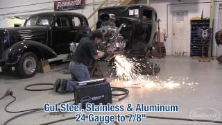 Plasma Cutter - Cutting a '32 Ford Crossmember with a Versa-Cut 60 - Eastwood