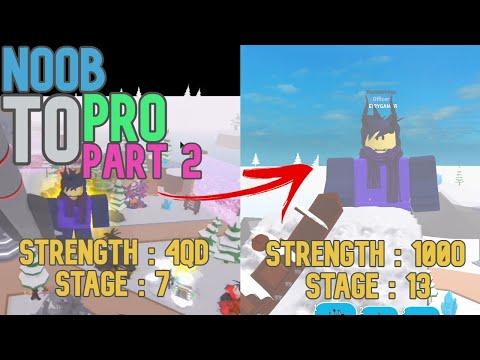 Noob To Pro Part 2 | Big Lifting Simulator 2