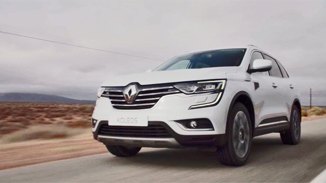 first drive 2016 renault koleos youtube. Black Bedroom Furniture Sets. Home Design Ideas