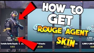 HOW TO GET THE ROUGE AGENT SKIN! | (Fortnite: Battle Royale)