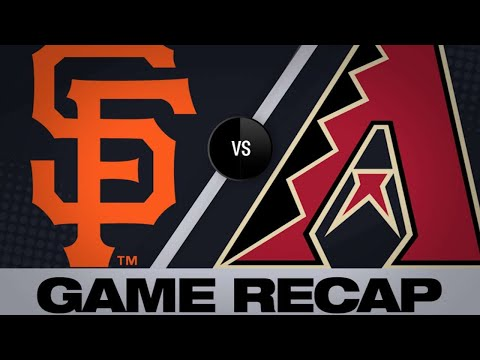 Locastro hits walk-off single in 10th | Giants-D-backs Game Highlights 6/23/19