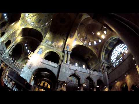 Inside St Mark's Basilica - Venice, Italy
