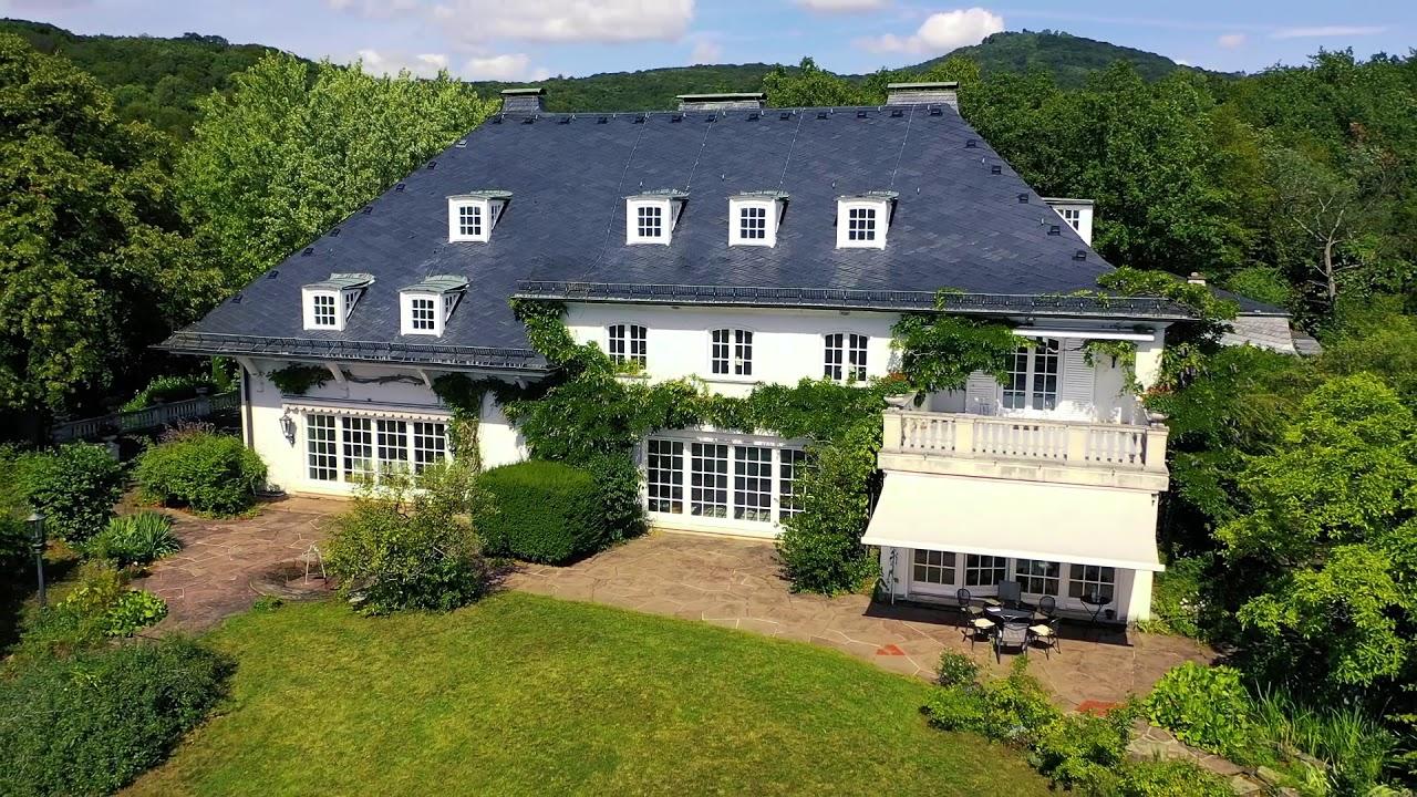 Villa Heckenfels in Bad Honnef vor den Toren von Köln und Bonn