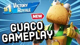 GUACO Skin Gameplay In Fortnite!