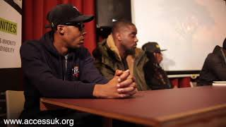 The influence of music debate ft: Skrapz, Dr Umar Johnson, AM & Skengdo(410), Leo Muhammad (Pt1)