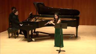 Lieberman Sonata for Flute and Piano, Op. 23- Martha Chan