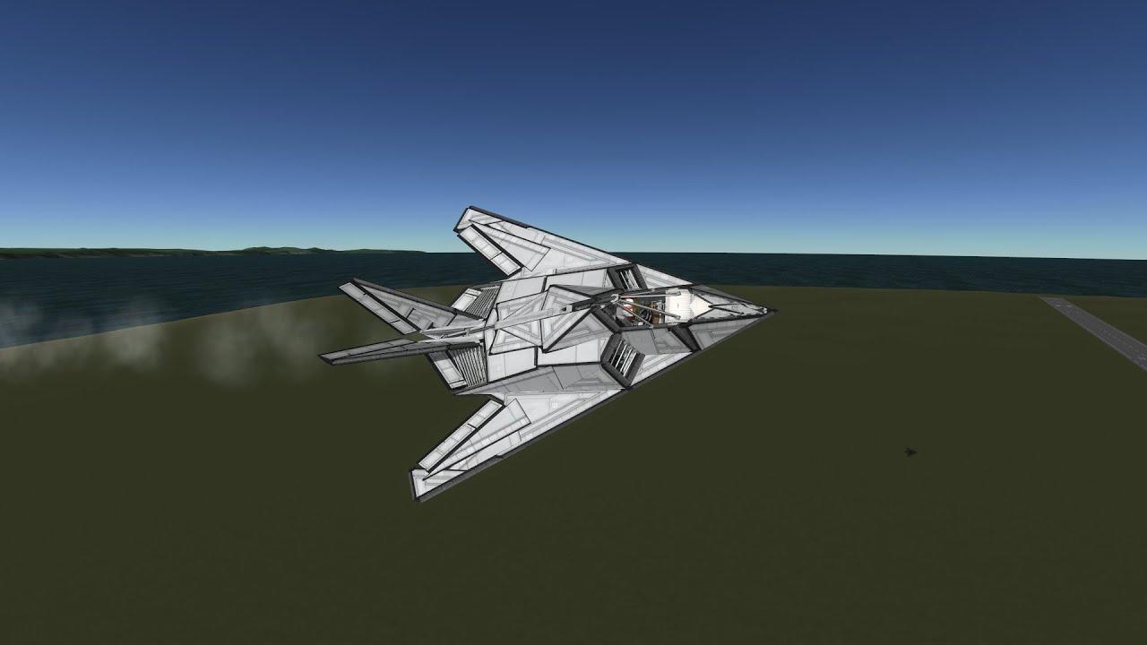 Lockheed F-117 Nighthawk with ejection seat! [KSP-1.1 ...