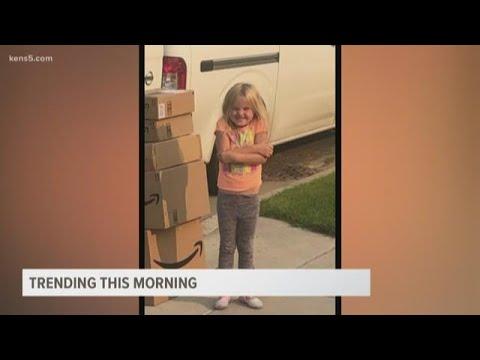 Little girl orders $350 dollars worth of toys on Amazon, #MatildaChallenge trending