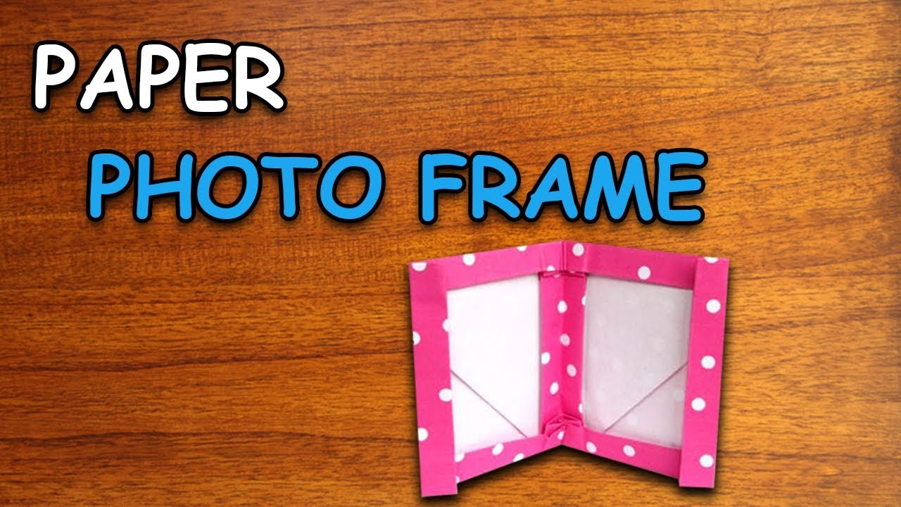 Learn How To Make Paper Photo Frame | Origami For Kids | Periwinkle ...