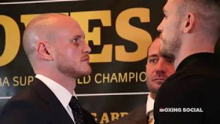 FACE OFF! GEORGE GROVES AND CALLUM SMITH FACE OFF AHEAD OF WBSS FINAL