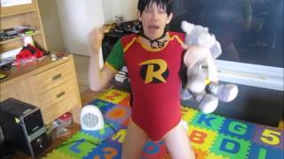 Repeat youtube video Halloween with an Adult Baby Boy!!