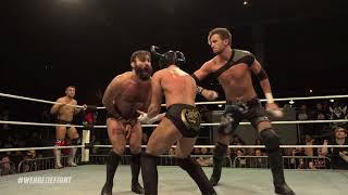David Starr & El Ligero Vs Travis Banks & Chris Brookes (Defiant Wrestling #7)