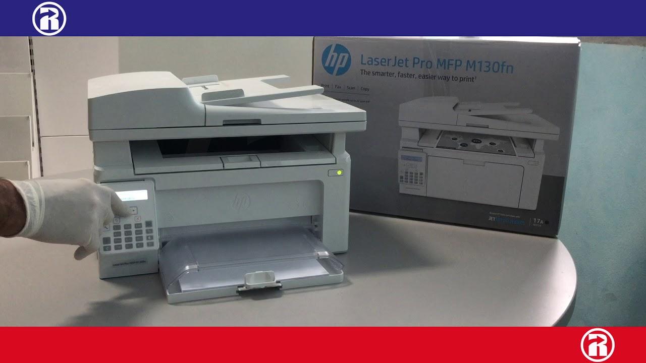 HP Laserjet Pro MFP M130FN Unboxing