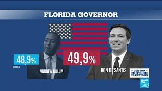 US Midterms: Republican Ron DeSantis wins Florida governor race