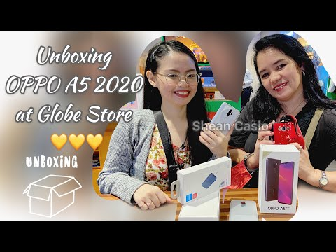 Unboxing OPPO A5 2020 128GB (Free at Globe Plan 799) + AllHome Vista Mall Tour | Vlog #11