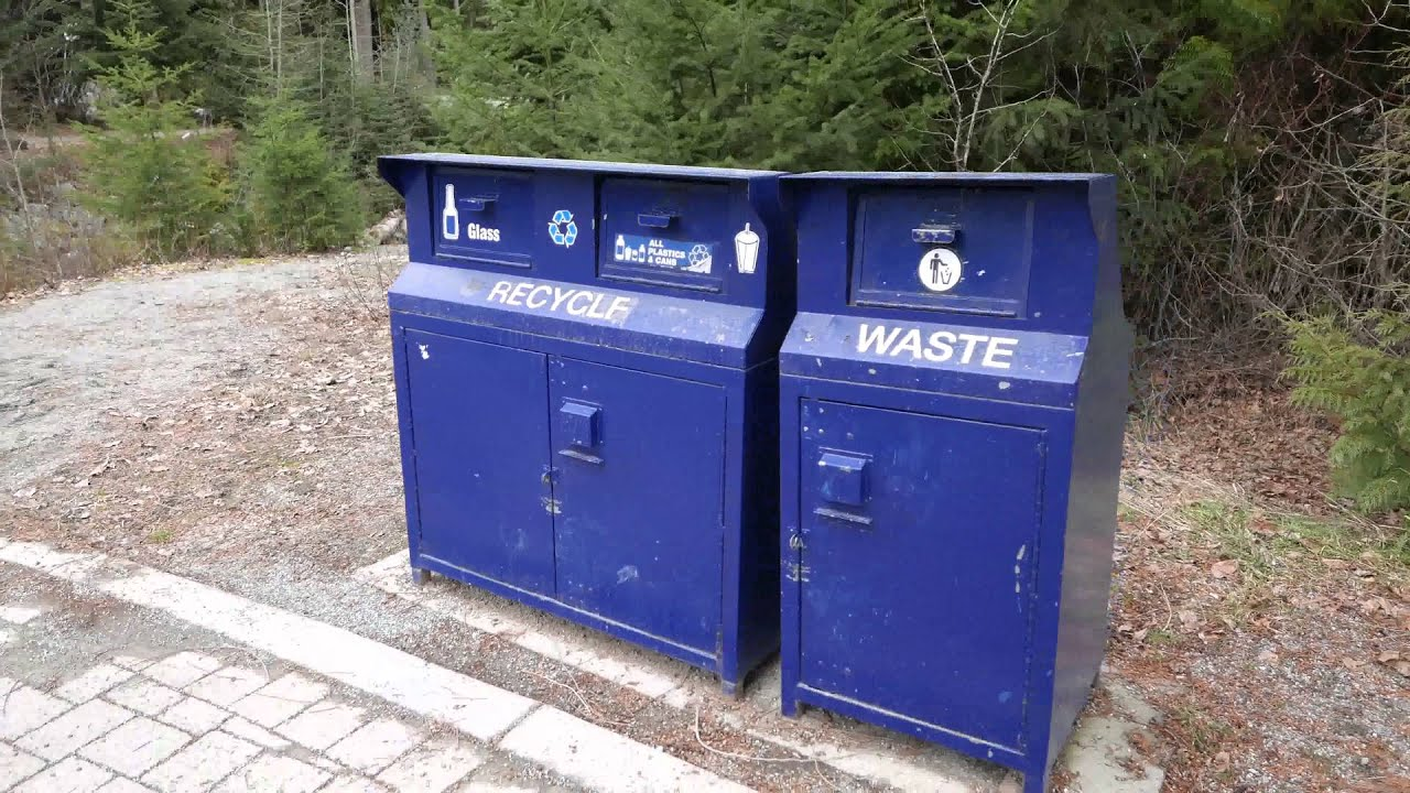Bear Proof Garbage Cans in 4K UltraHD