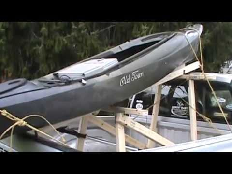 Diy kayak rackpickup truck youtube solutioingenieria Images