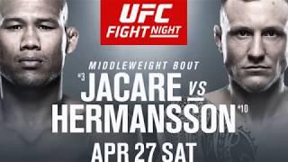 UFC Fight Night: Jacaré vs. Hermansson