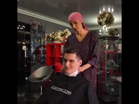 Прикол в парикмахерской в праздник 9 мая