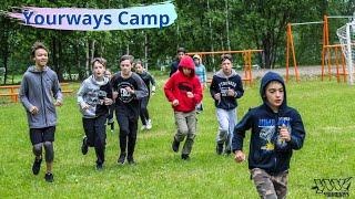 Акробатический - паркур лагерь для детей Yourways Camp