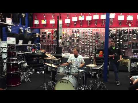 Appleton Guitar Center Store Drum Off 2015 - Vince Conrad