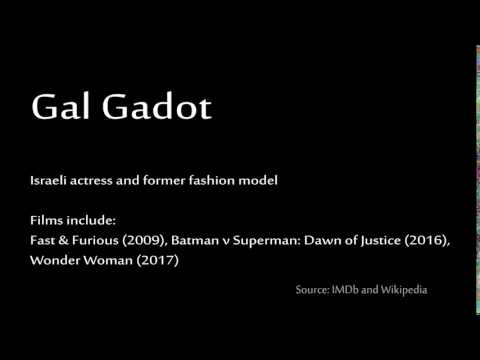 How to pronounce - Gal Gadot