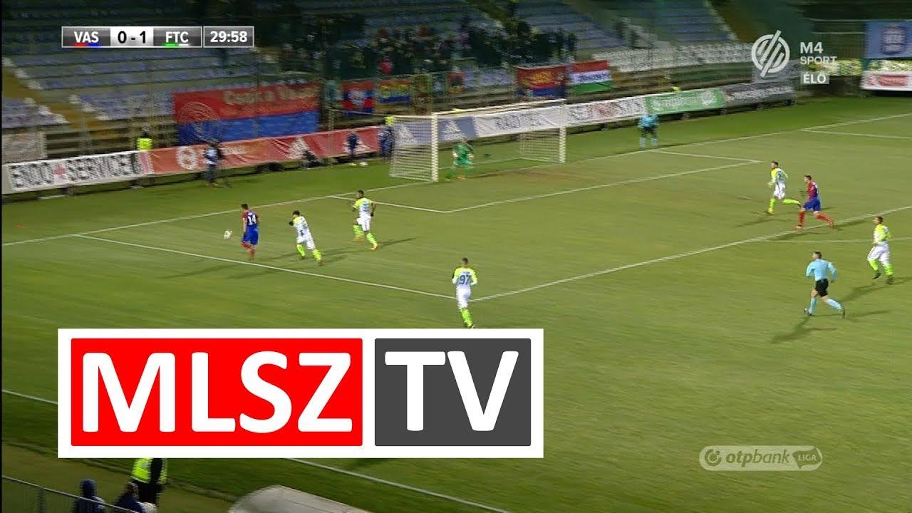 Vasas FC - Ferencvárosi TC | 0-2 (0-1) | OTP Bank Liga | 19. forduló | 2017/2018 | MLSZTV
