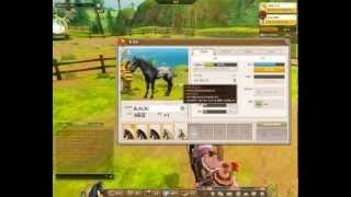 Alicia online (german/deutsch) Pferde verbesserungs werte