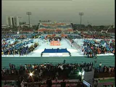 พิธีเปิดการแข่งขันกีฬาแห่งชาติ ครั้งที่ 42 สุพรรณบุรีเกมส์ 3/6
