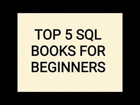 TOP 5 SQL BOOKS FOR BEGINNERS