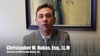 Property Insurance Attorney Christopher M. Nahas Esq., LL.M