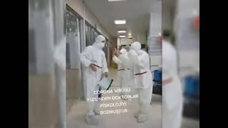 Korona virüs komik tiktok akımı 2020