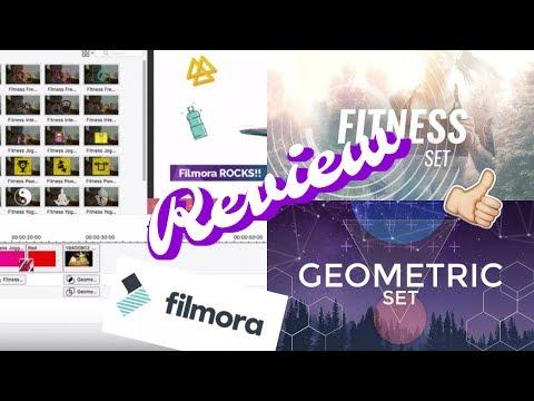 Filmora Review   Geometric + Fitness...