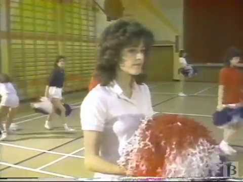 ASN Cole Harbour High School Cheerleaders 1987