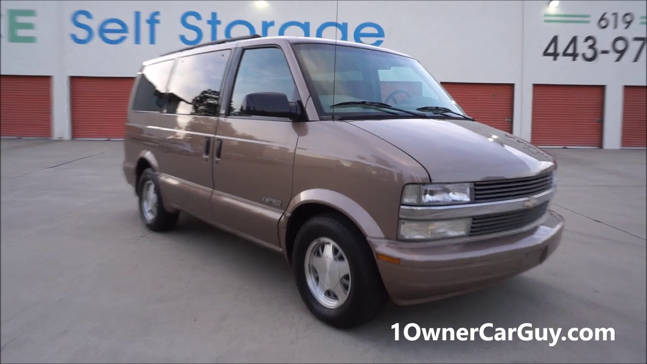 2d81a7c637 Buy a Minivan Astro Chevy Van ~ 1 Owner 68k Interior Video - YouTube