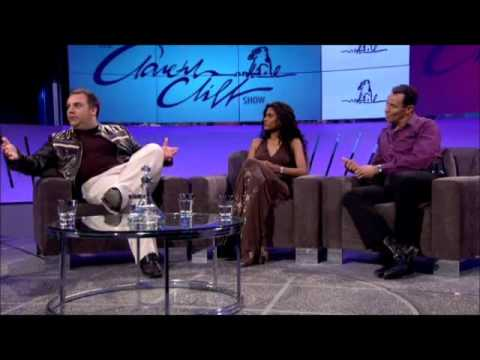Robin Banks on the Gareth Cliff Show
