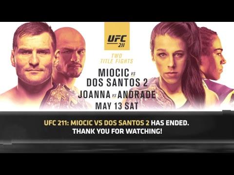 UFC 211: Miocic vs Dos Santos 2