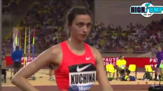 Mariya Kuchina 2m  ( Monako Diamond League women high jump )