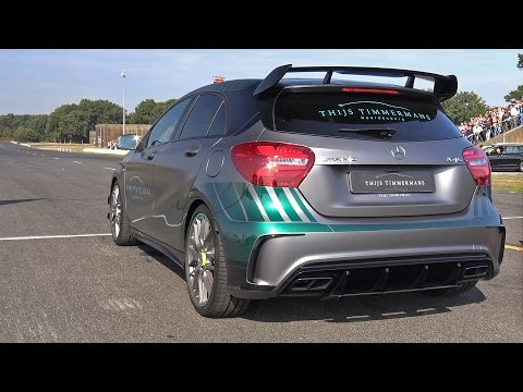 Mercedes-AMG A45 Petronas World Champions F1 Edition - Exhaust Sounds!